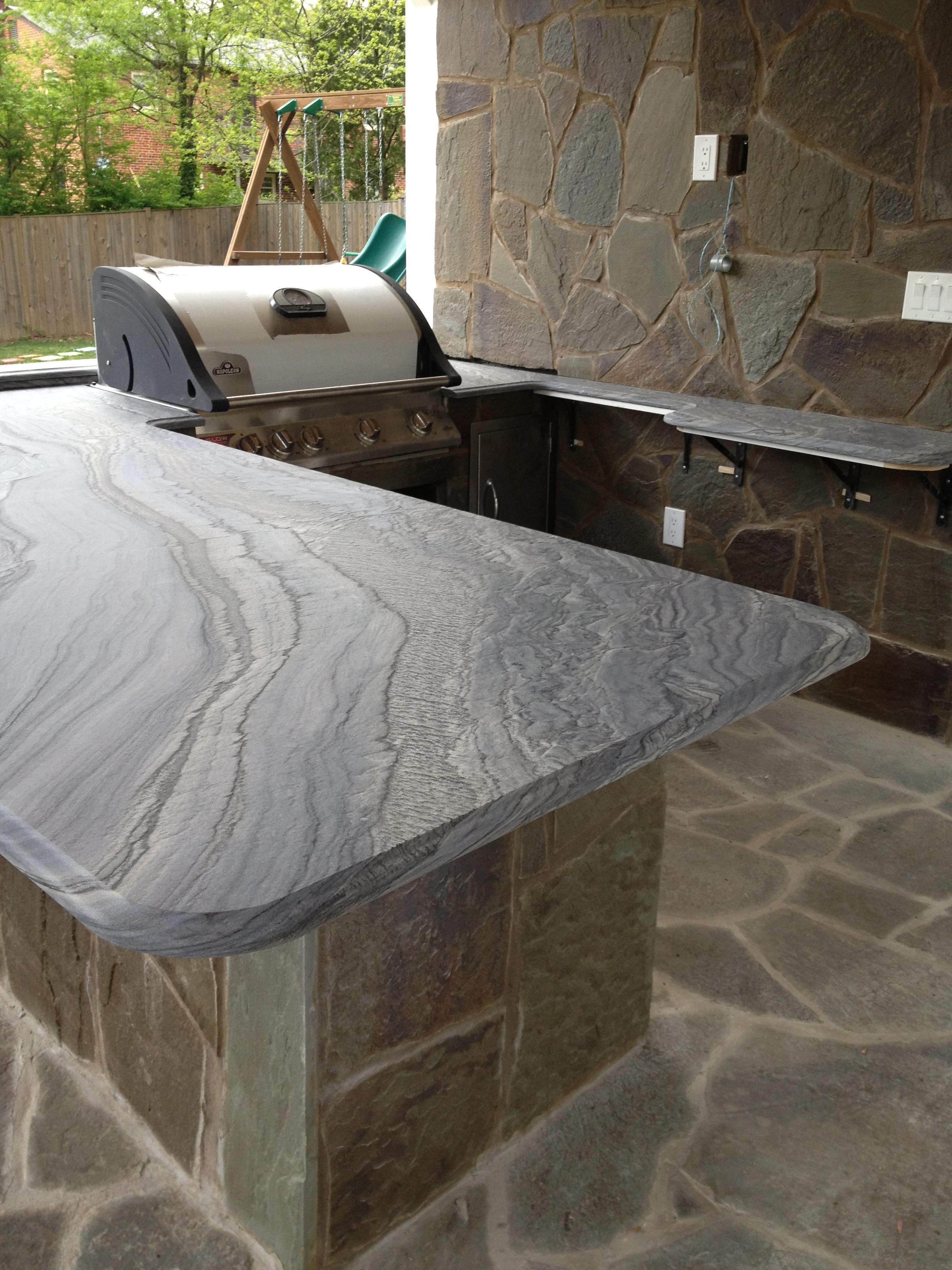 Granite For Outdoor Kitchen Outdoor Kitchens Marble Granite